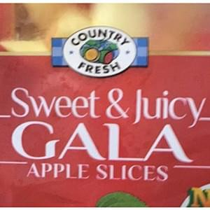 Country Fresh Sweet & Juicy Gala Apple Slices