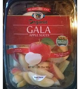 Country Fresh Organic Apple Slices Gala