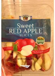 Country Fresh Sweet Red Apple Slices