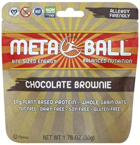 Meta Ball Chocolate Brownie - 1.76 oz