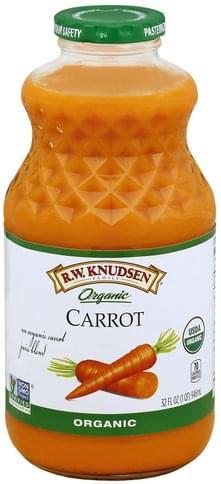 Rw Knudsen Organic, Carrot Juice Blend - 32 oz
