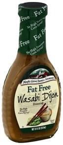 Maple Grove Farms Dressing Fat Free, Wasabi Dijon