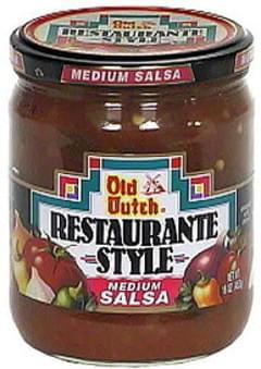 Old Dutch Restaurante Style Medium Salsa