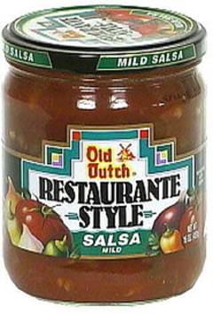 Old Dutch Restaurante Style Salsa, Mild