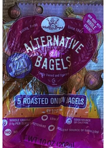 Western Bagel Roasted Onion Bagels - 57 g