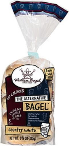 Western Bagel Bagels Alternative Plain Sliced