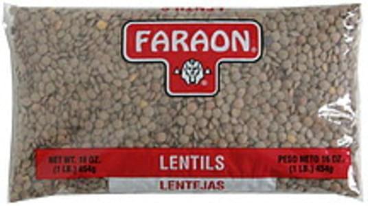 Faraon Lentils