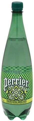 Perrier Mineral, Sparkling Natural Water - 33.8 oz