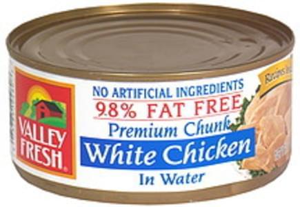 Valley Fresh White Chicken Premium Chunk White Chicken