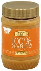 Crazy Richards Peanut Butter Crunchy