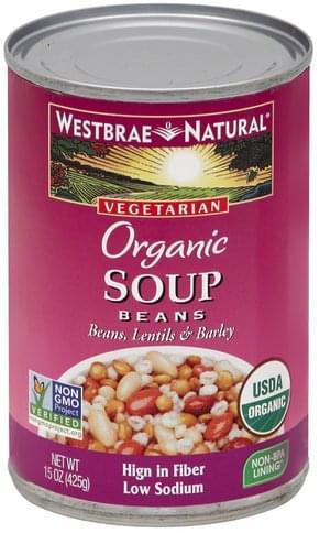 Westbrae Natural Soup Beans - 15 oz