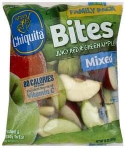 Chiquita Apple Juicy Red & Green, Mixed, Family Pack