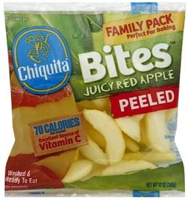 Chiquita Apple Juicy Red, Peeled, Family Pack