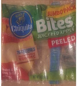 Chiquita Red Apple Bites