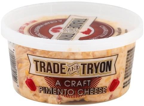 Trade And Tryon Pimento Cheese - 12 oz