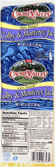 Cache Valley Cheese Colby & Monterey Jack