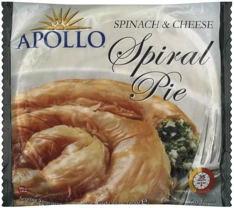 Apollo Spinach & Cheese Spiral Pie - 28 oz