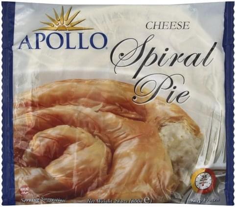 Apollo Cheese Spiral Pie - 28 oz