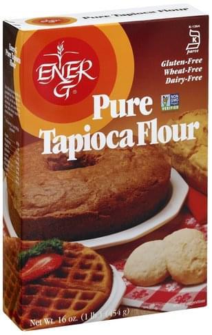 EnerG Pure Tapioca Flour - 16 oz