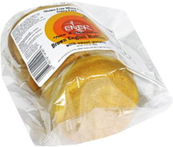 EnerG Brown English with Sweet Potato Muffins - 4 ea