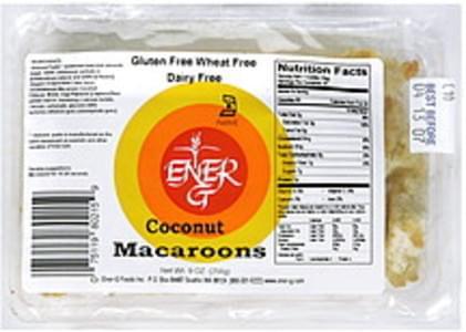 Ener-g Macaroons Coconut
