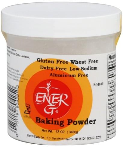 EnerG Baking Powder - 12 oz