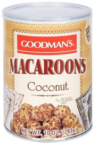 Goodmans Coconut Macaroons - 10 oz