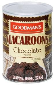 Goodmans Macaroons Chocolate Flavored