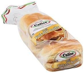 Calise Bakery Potato Rolls Deli