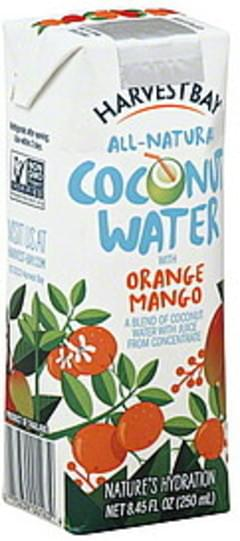Harvest Bay Coconut Water with Orange Mango