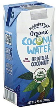 Harvest Bay Coconut Water Organic, Original Coconut
