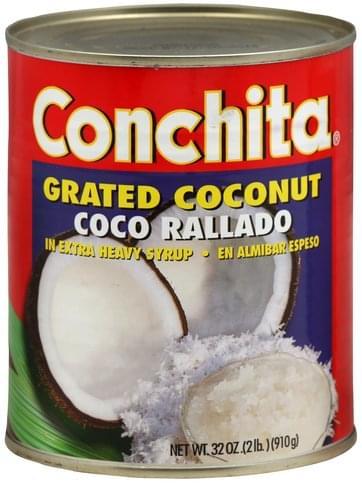 Conchita Grated Coconut - 32 oz