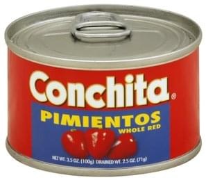 Conchita Pimientos Red, Whole