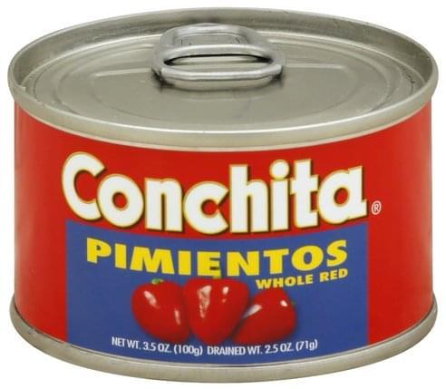 Conchita Red, Whole Pimientos - 3.5 oz