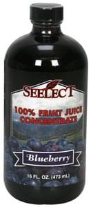 Seelect 100% Fruit Juice Concentrate Blueberry