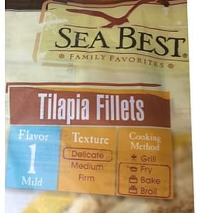 Sea Best Tilapia Fillets Flavor 1 Mild