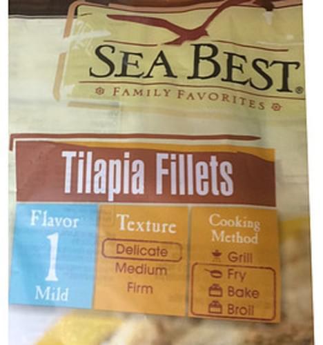 Sea Best Flavor 1 Mild Tilapia Fillets - 113 g
