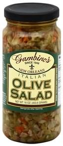 Gambinos Olive Salad Italian