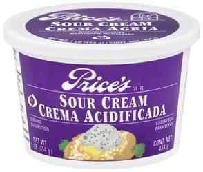 Prices Sour Cream