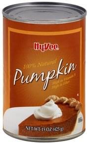 Hy Vee Pumpkin