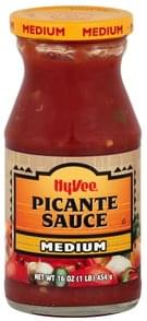 Hy Vee Picante Sauce Medium