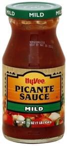Hy Vee Picante Sauce Mild