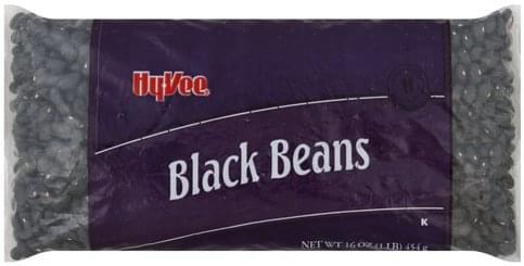 Hy Vee Black Beans - 16 oz
