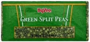 Hy Vee Split Peas Green