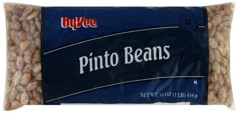 Hy Vee Pinto Beans - 16 oz