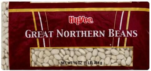 Hy Vee Great Northern Beans - 16 oz