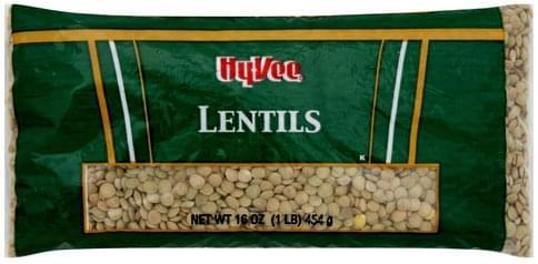 Hy Vee Lentils - 16 oz
