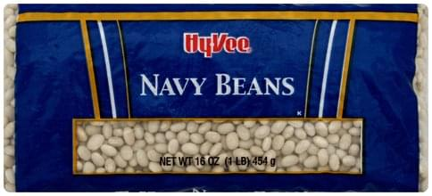 Hy Vee Navy Beans - 16 oz