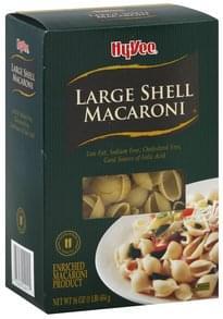 Hy Vee Shell Macaroni Large