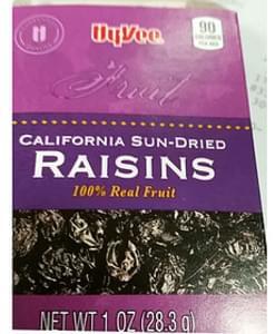 Hyvee California Sun-Dried Raisins